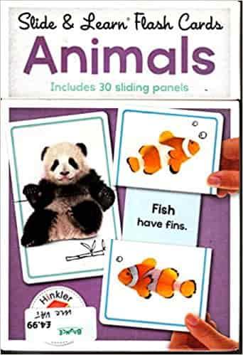 Building Blocks Slide & Learn Flashcards Animals (UK Eng)
