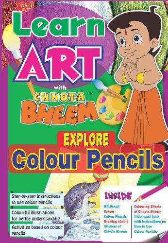 Chhota Bheem Explore Colour Pencil Multi