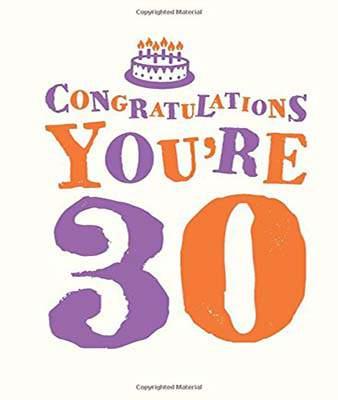 Congratulations You're 30 (Gift Books)