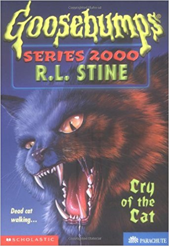 Cry of the Cat (Goosebumps 2000)
