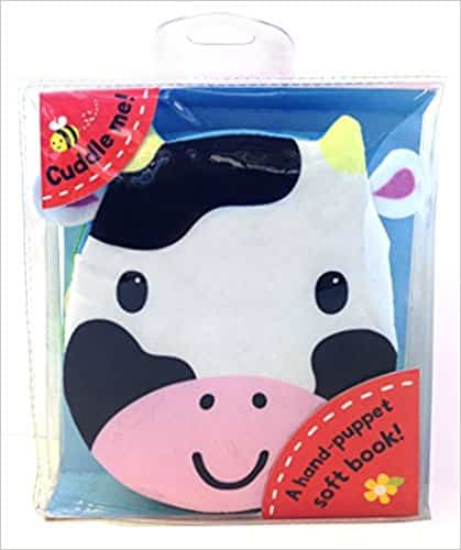 Cuddly Cloth Puppets: Cows Go Moo!: A soft book