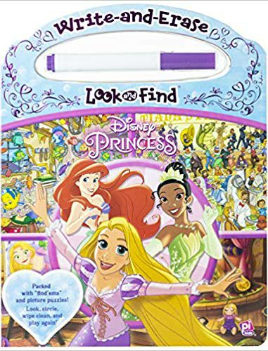 Disney Princess: Write & Erase Look & Find -