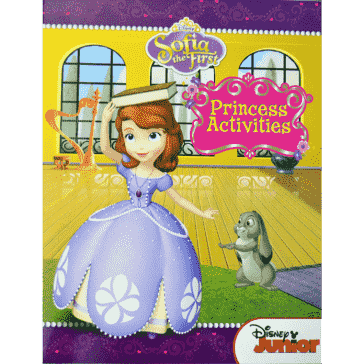Disney Sofia the First, Royal Princess Activity Gift Set, Over 100 Pieces - Sophia