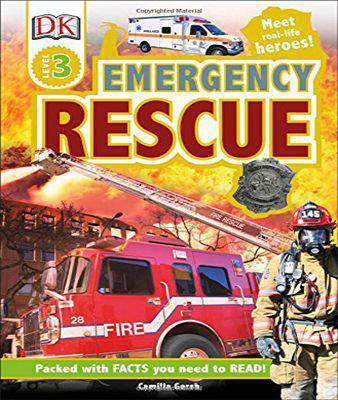 DK Readers L3: Emergency Rescue   -