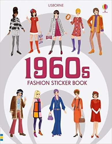 1960s Fashion Sticker Book