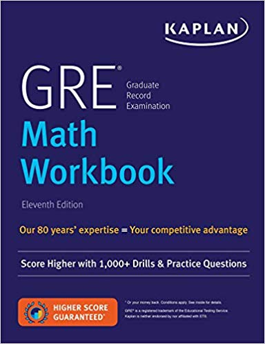 GRE Math Workbook: Score Higher with 1,000+ Drills & Practice Questions