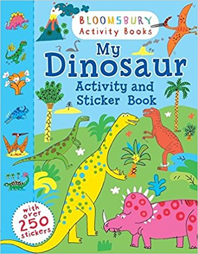 My Dinosaur Activity and Sticker Book