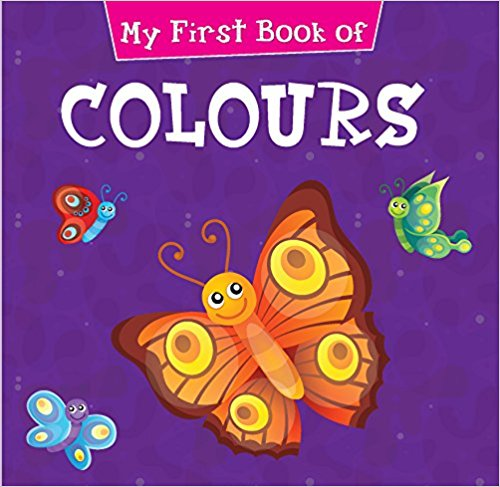 My First Book of Colours