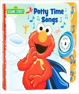 Elmo's Potty Time Tiny Play-a-Song Book by Susan Rich Brooke, Veronica Wagner