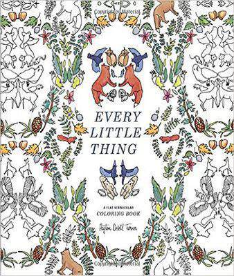 Every Little Thing A Flat Vernacular Coloring Book