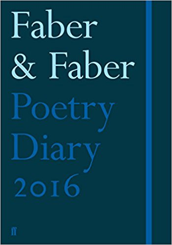 Faber Poetry Diary 2016: Dark Blue