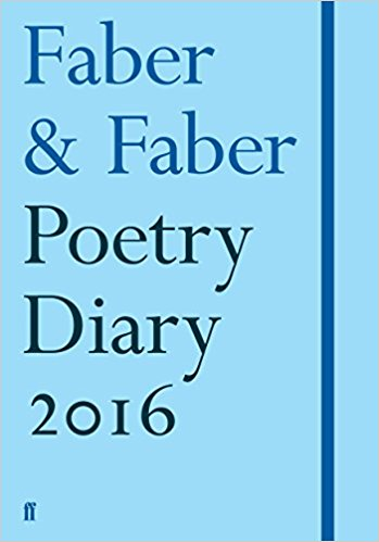 Faber Poetry Diary 2016: Pale Blue