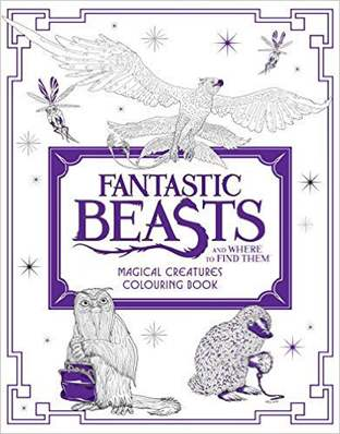 Fantastic Beasts and Where to Find Them Magical Creatures Colouring Book Fantastic Beasts Colouring books