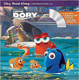 Finding Dory Disney Storybook and CD