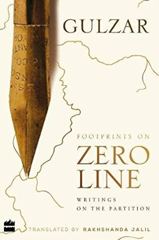 Footprints on zero line: Writing on the partition