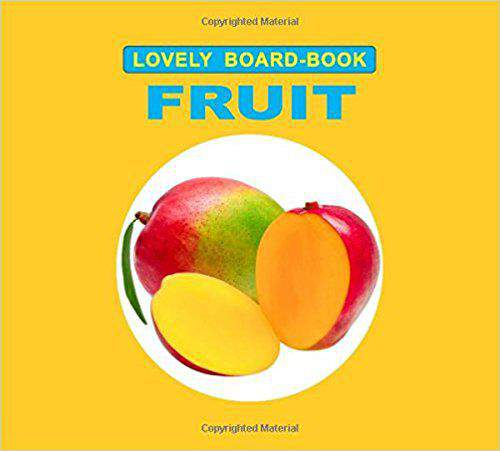 First picture book fruits and vegetables