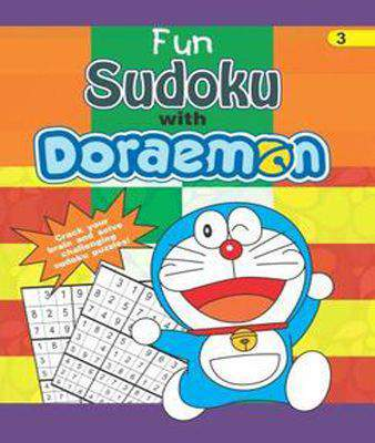 Fun sudoku with doraemon 3