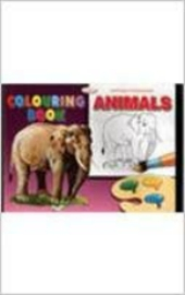 Alka Series Of Colouring Book: Colouring Book Animals