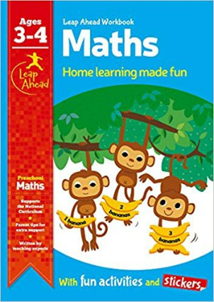Leap Ahead Workbook: Math Age 3-4