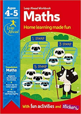Leap Ahead Workbook: Math Age 4-5