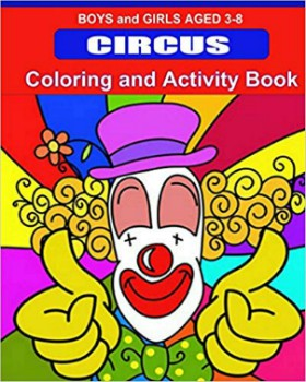 Colouring & Activity - Circus