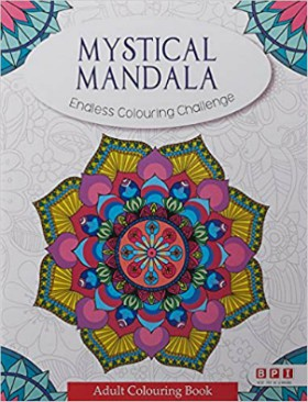 Colouring Book Mystical Mandala