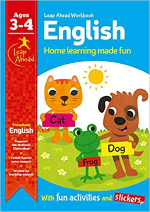 Leap Ahead Workbook: English Age 3-4