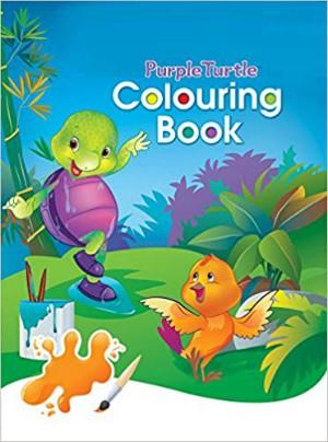 Purple Turtle Colouring Book-2