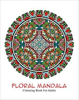 Floral Mandala Colouring Book for Adults