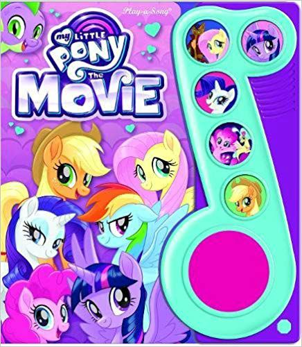 My Little Pony The Movie Little Music Note 6 Button Sound Book