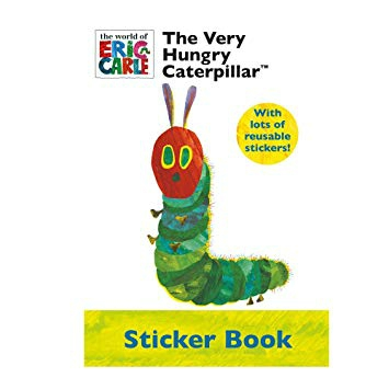 Alligator Publishing A4 sized The Very Hungry Caterpillar Sticker Book