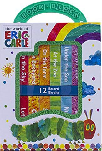 Eric Carle, My First Library Board Book Block Set