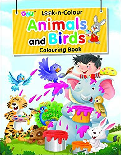 Look-n-Colour Animals and Birds