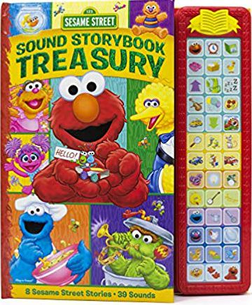 Sesame Street - Elmo, Zoe, Big Bird and more! Sound Storybook Treasury