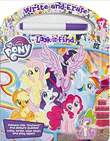 My Little Pony - Write-and-Erase Look and Find
