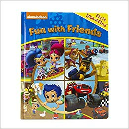 Nickelodeon - Fun with Friends Paw Patrol First Look and Find