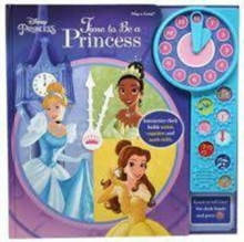 Disney Princess Clock Book