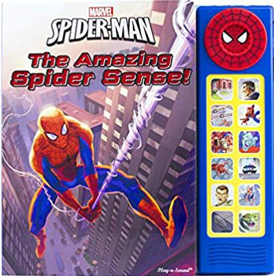 Marvel Spider-Man Deluxe Custom Frame Soundbook: The Amazing Spider Sense!