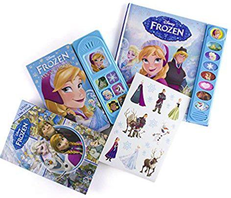 Disney Frozen Read, Look