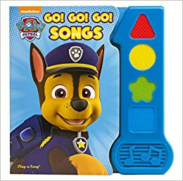 Nickelodeon Paw Patrol - Go! Go! Go! Songs Baby's First Song Book