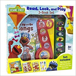Sesame Street?? Read, Look, and Play 3-Book