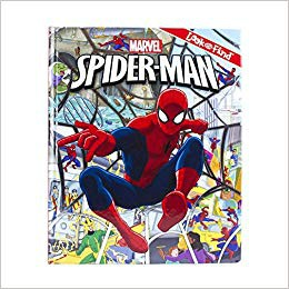 Marvel Spider-Man Look and Find Book