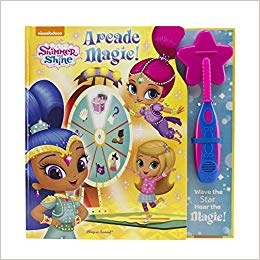 Shimmer and Shine Magic Wand Book