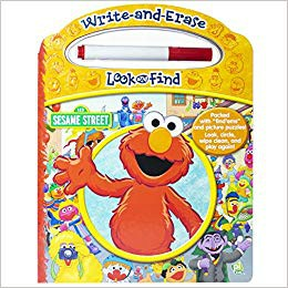 Sesame Street: Write and Ease Look and Find