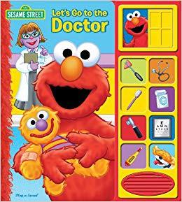Sesame Street Elmo Let's Go to The Doctor Sound Book By : Disney