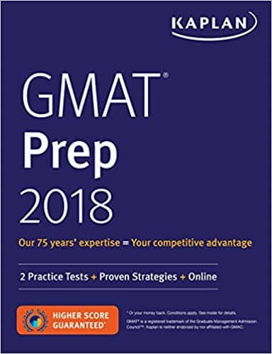 GMAT Prep 2018: 2 Practice Tests + Proven Strategies + Online (Kaplan Test Prep) Pap/Psc Edition
