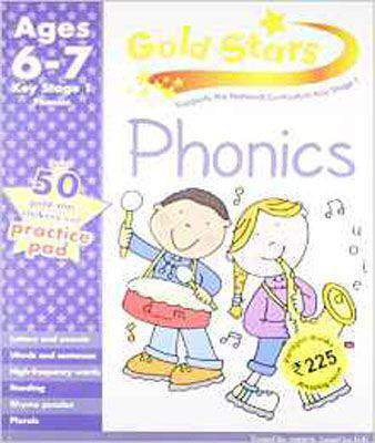 Gold Stars KS1 Phonics Workbook Age 6-7