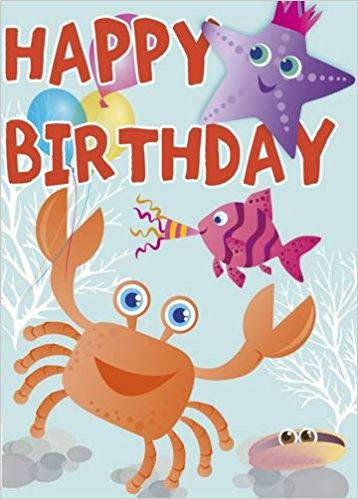 Happy Birthday - Under the Sea