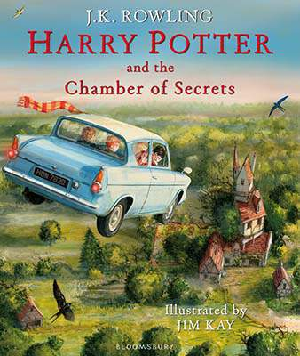 Harry Potter and the Chamber of Secrets Illustrated Edition -