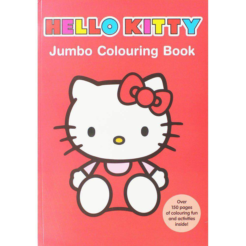 Hello Kitty Jumbo Colouring Book